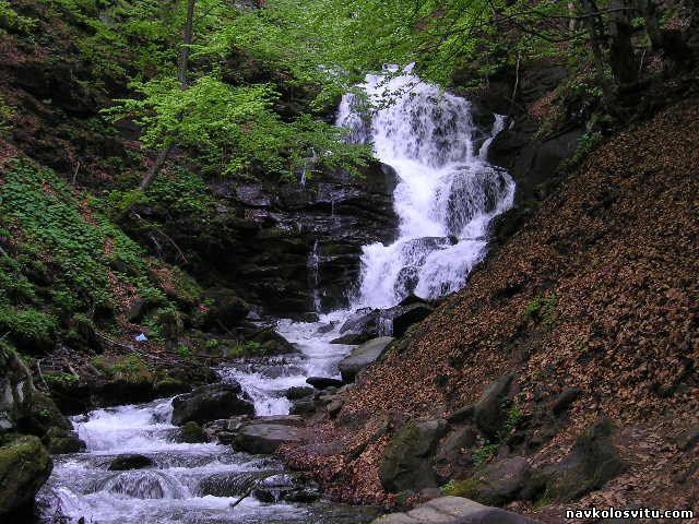 Водопад  Шипот. Пилипец