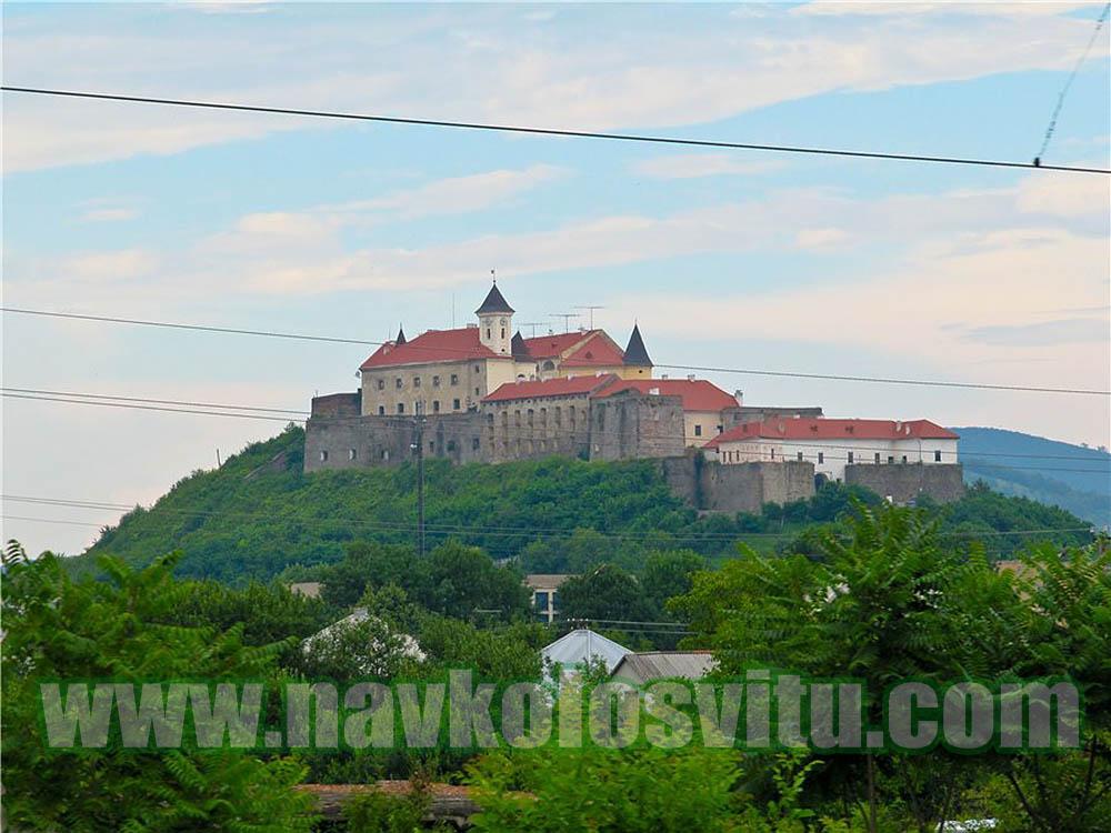 Ужгородский замок. Новый год в Мукачево 2014